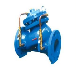 多功能水泵控制阀的构造原理